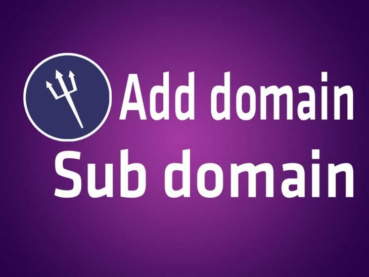 point sub domain to new IP
